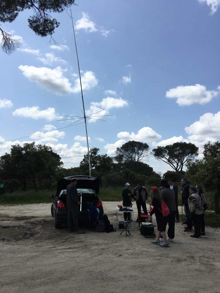 Activación en el Pardo 2016 LaRadioCB