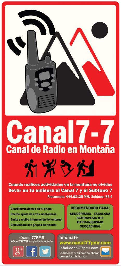 Canal 7 - 7 Canal de Radio en Montaña LaRadioCB
