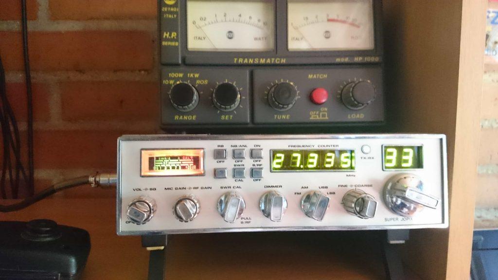 licencia radioaficionado 27 mhz