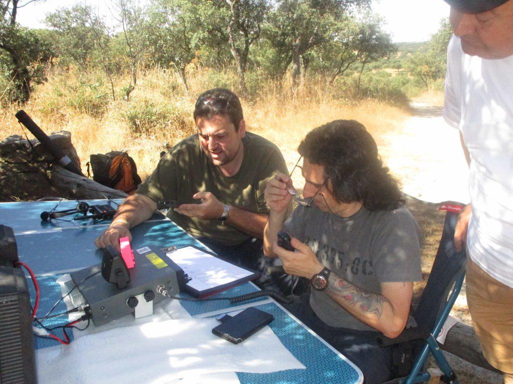 2ª Activación en El Pardo de Madrid LaRadioCB con fecha 25 de junio del 2016