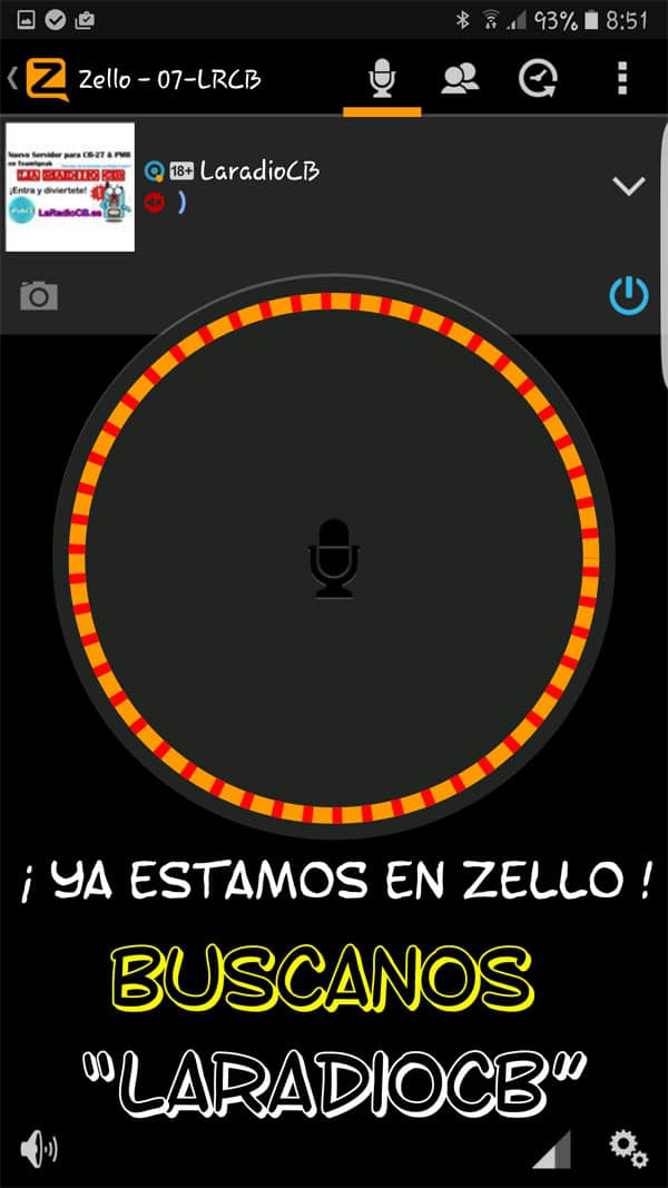 LaRadioCB ya en Zello