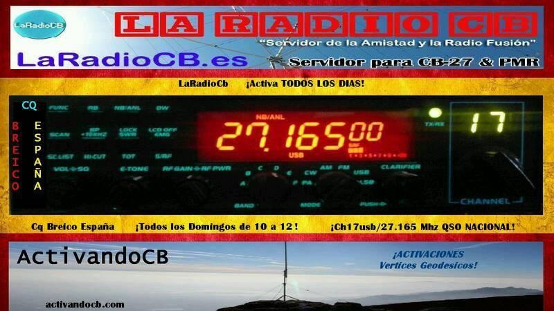 CQ Breico España de 10 a 12 canal 17 USB todos los domingos