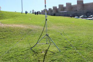 La antena preparada para retransmitir en Iberradio-2016 LaradioCB