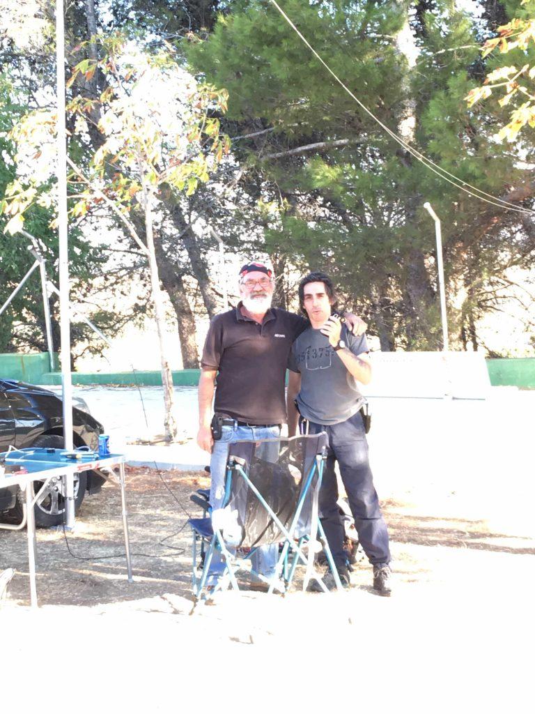 Primeras pruebas de las antenas en el Cerro los Ángeles