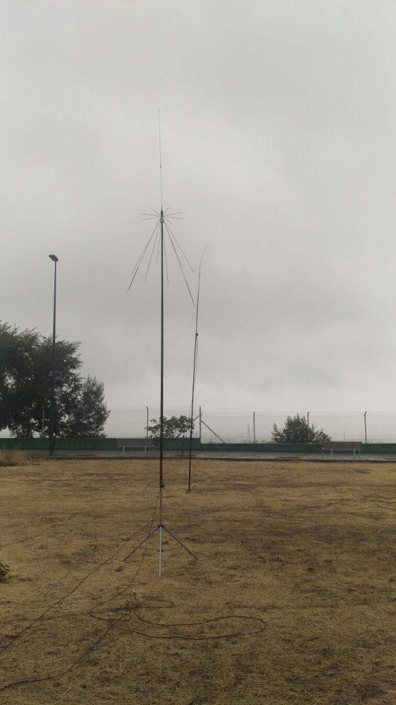 2ª Prueba de antenas en el Cerro los Ángeles