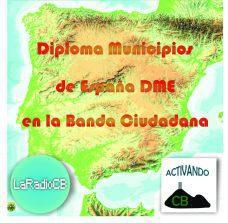 Diploma de municipios de España para la CB 27 MHZ
