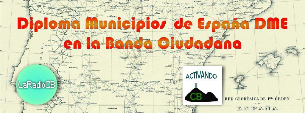 Diploma Municipios en España en CB27 Mhz - LaRadioCB.es