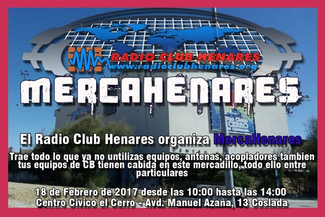 MercaHenares en el Radio Club Henares organiza el evento más esperado en Madrid