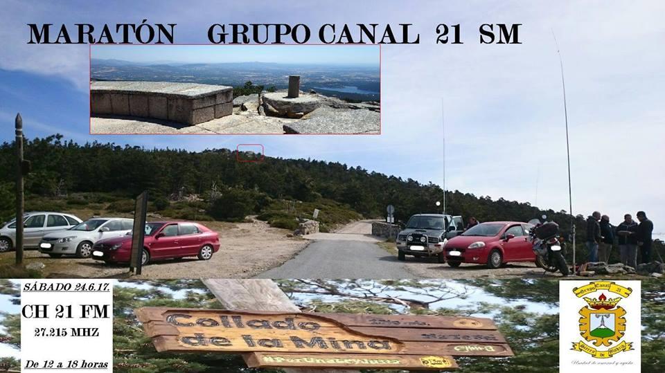 Maraton Grupo Canal 21 Sierra de Madrid en 27MHz