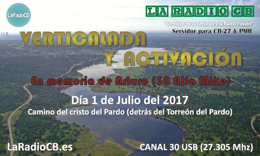 Cuarta activacion de CB27Mhz de LaRadioCB en el Pardo de Madrid