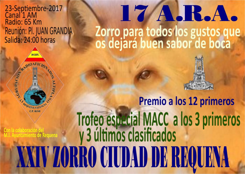 Zorro para todos los gustos en CB27Mhz