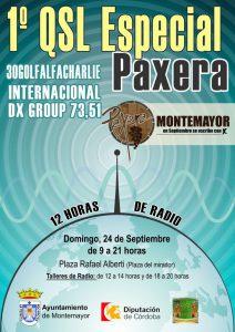 El grupo 30 GolfAlfaCharlie QSL Especial Paxera