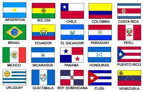 Banderas de habla Hispana
