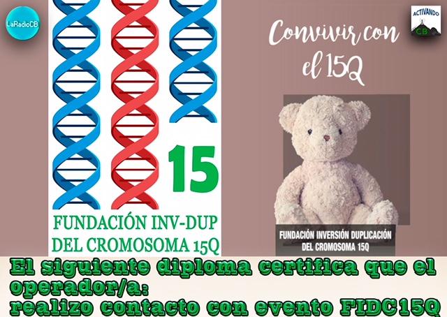 Diploma Especial Fundación Inversión Duplicación Cromosoma