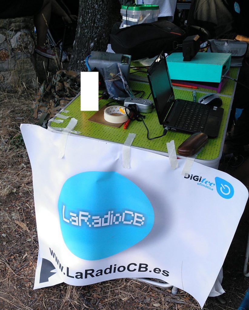 V Activación de LaRadioCB en el Pardo de Madrid