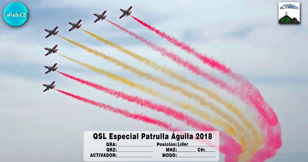 QSL Especial Patrulla Águila 2018-Líder