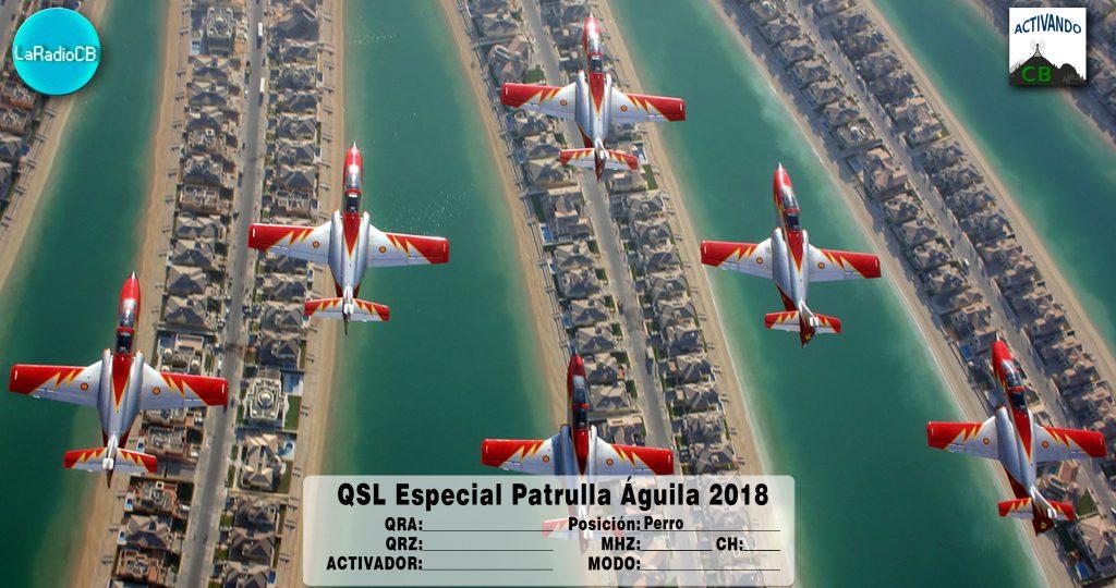 QSL Especial Patrulla Águila 2018-Perro