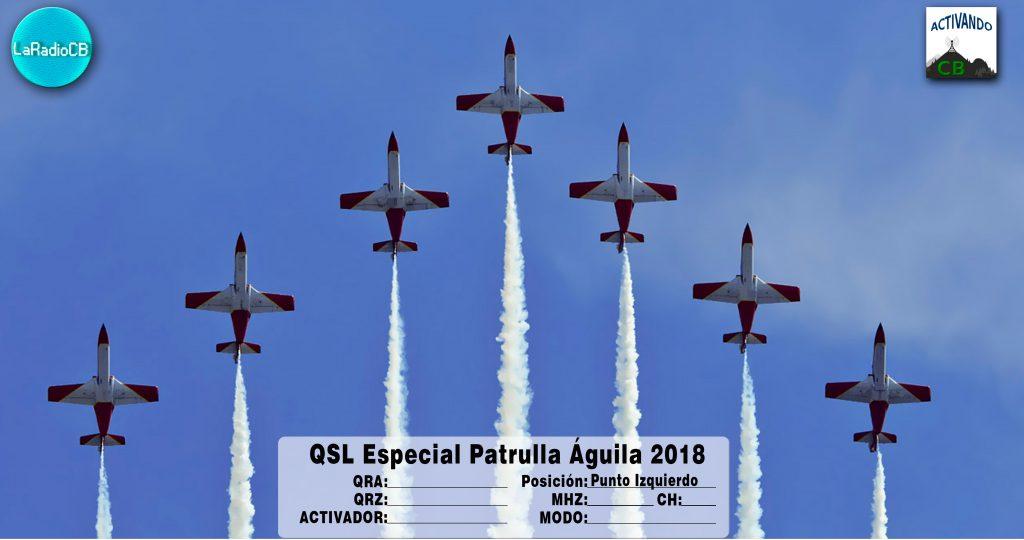 QSL Especial Patrulla Águila 2018-Punto Izquierdo