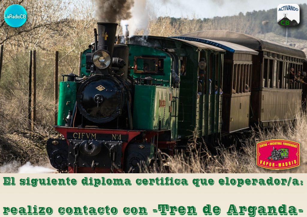 ▷Activación especial tren de Arganda 2019 ✅ LaRadioCB