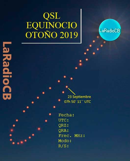 QSLs Equinoccios y Solsticios
