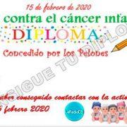 Activación día contra el cáncer infantil