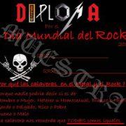 Activacion por el día mundial del Rock 2020