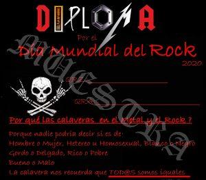 Activacion día mundial del Rock 2020
