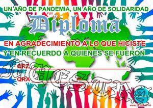 Activación un año de solidaridad en CB27Mhz