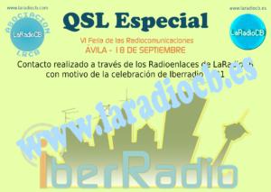 QSL Especial IberRadio 2021